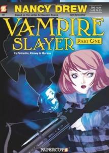 Nancy Drew Vampire Slayer Part 1 Cover